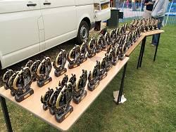 2009 Alice Holt Races trophies