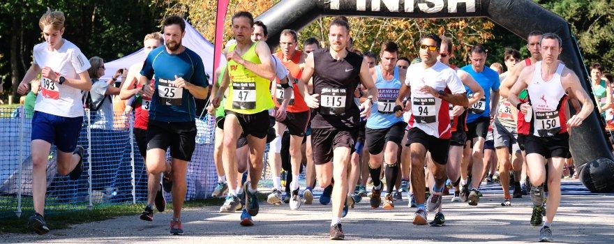 Start of the 2019 Alice Holt Races 10K