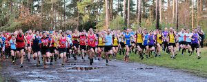 Start of 2019 SXCL race at The Bourne, Farnham