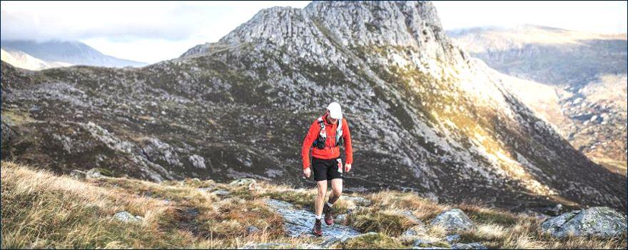 David Roy running in the Snowdon Ultra 50 miler