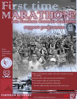 Flyer for 2011 Marathon Beginners Course