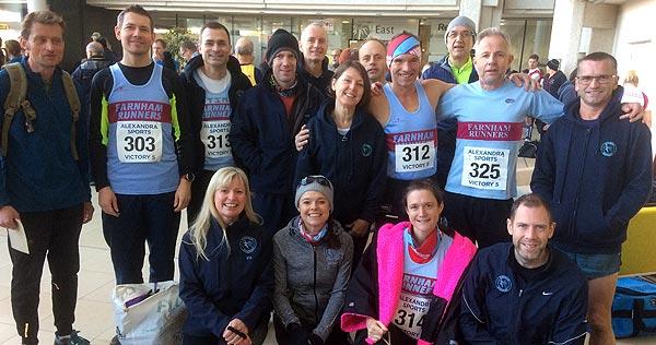 Farnham Runners at Victory 5 race