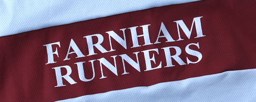 Club name on running vest