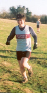 Lindsay Bamford at 2000 HXCL race at Overton