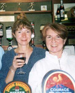 Club social secretaries in 2000