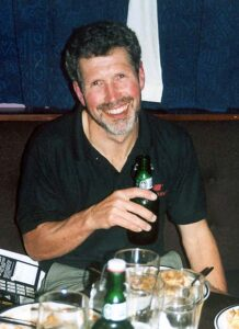Andy Smith at a Club supper in 2001