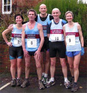 Group at 2002 Boxing Day Fun Run