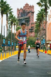 Member at 2002 Disney Marathon