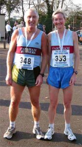 Members at 2002 Gosport Half Marathon