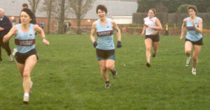 Ladies finishing the 2002 HXCL at Bournemouth