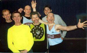 Farnham Runner with 2002 HXCL trophy