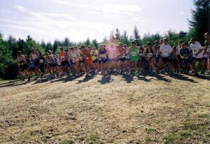 Start of the 2003 Alice Holt 10K
