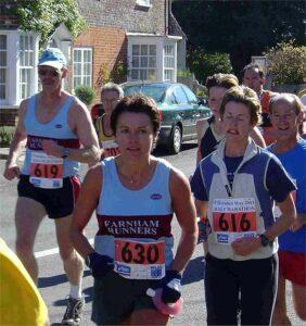 Members at 2003 Clarendon Way Half Marathon