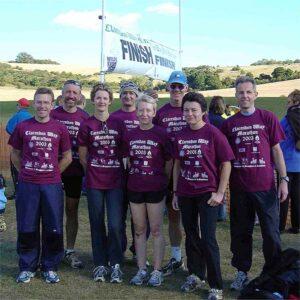 Group at 2003 Clarendon Way Half and Full Marathons
