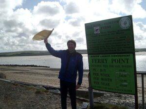 Member at Farnham Runners visit to Cornwall in 2003
