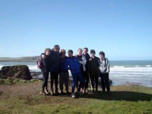 Members at Farnham Runners visit to Cornwall in 2003