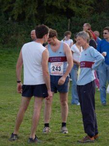 Members at 2005 Butser Hill Fell Race