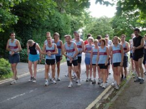 Members before the start of the 2005 Club Champioship