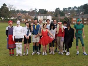 Group before the start of the 2005 Club Handicap