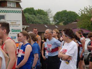 Steward Edgoose at start of 2006 Alton 10
