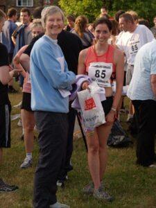 Jane Georghiou at 2006 Elstead Marathon