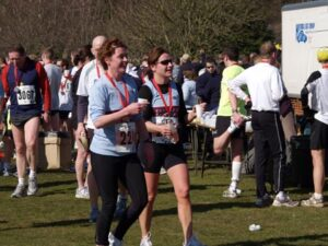 Members after the 2006 Fleet Half Marathon