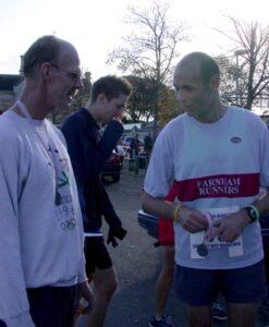Members at the 2006 Gosport Half Marathon