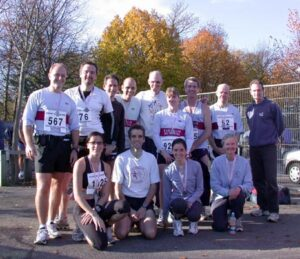 Group at the 2006 Gosport Half Marathon