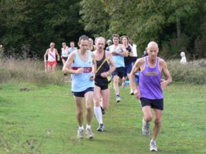 Members running in 2006 HXCL race at Farley Mount