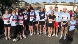 Group at 2007 Gosport Half Marathon