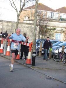 Pete Strange at 2007 Gosport Half Marathon