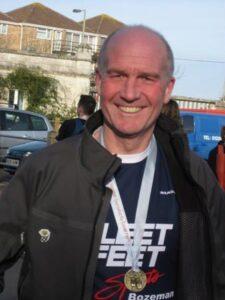 Malcolm Fitzsimmons at 2007 Gosport Half Marathon