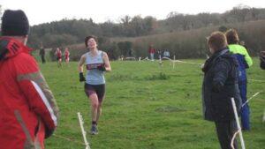 Lindsay Bamford finishing 2007 HXCL Overton