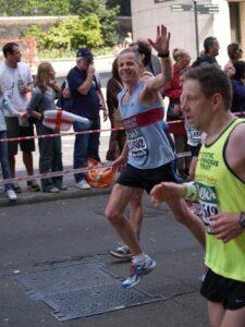 Charles Ashby at the 2007 London Marathon