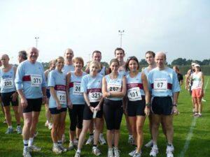 Group at 2007 HRRL Solent Half Marathon