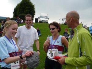 Members at 2007 HRRL Solent Half Marathon