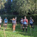 Some Farnham Runners lining up for the start of the 2020 Pilgrims marathon