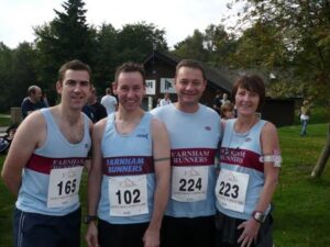 Members at 2008 Alice Holt 10K