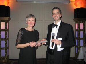 Jane Georghiou Grand Prix prize at the 2009 Annual Awards Dinner