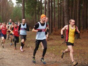 Members running at the 2009 TRXCL at Farnham