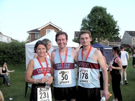 Members at 2010 Yately Race Series