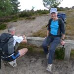 Jane Georghiou and Charles Ashby following clues at the 2011 Not A Mountain Marathon event