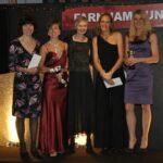 Ladies Grand Prix winners at 2012 Annual Awards Dinner