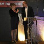 Steve Kitney and Elaine Ashby at 2012 Annual Awrads Dinner