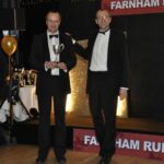 Steve Kitney presenting a trophy at 2012 Annual Awrads Dinner