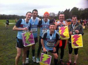 Group after 2013 Fleet Half Marathon