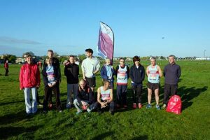 Group before start of 2014 London Marathon