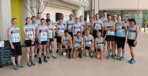 Group at 2015 D Day 10km