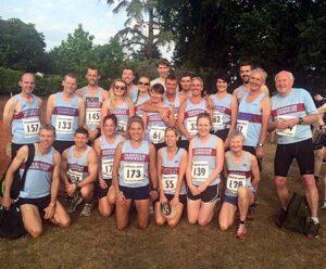 Group at 2015 Elstead Marathon