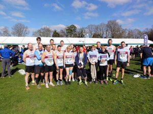 Group at 2015 Fleet Half Marathon